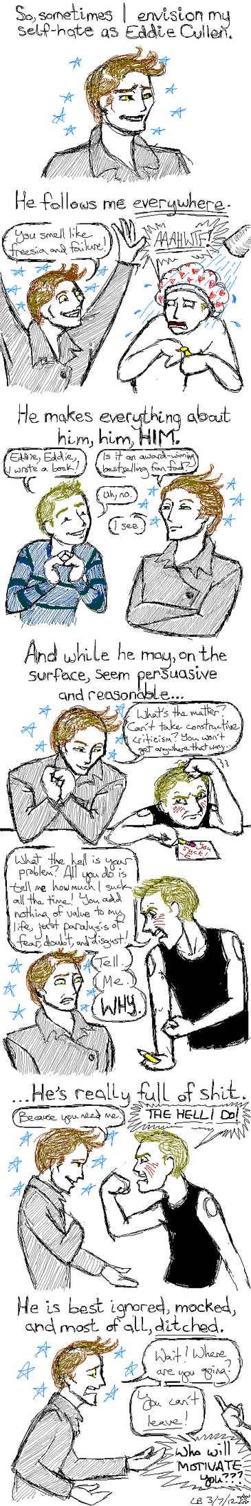 Edward Cullen Adventures pg. 1 by BaaingTree