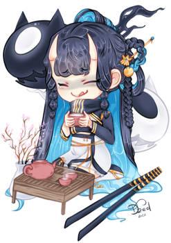Tea Time (oc)
