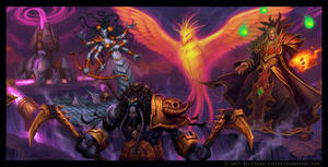 Kael'Thas and Crew