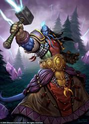 Phadalus The Enlightened by GlennRaneArt