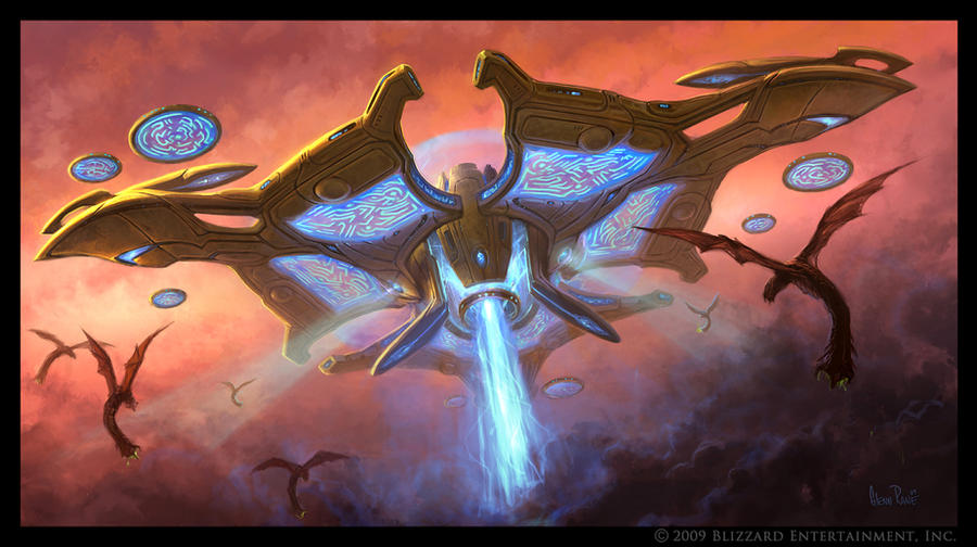 Protoss Mothership by Arsenal21