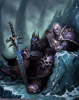 The Lich King by GlennRaneArt