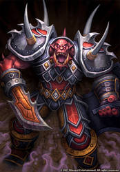 Lionar the Blood Cursed by GlennRaneArt