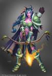 Night Elf Huntress
