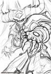 Andarius the Damned Drawing
