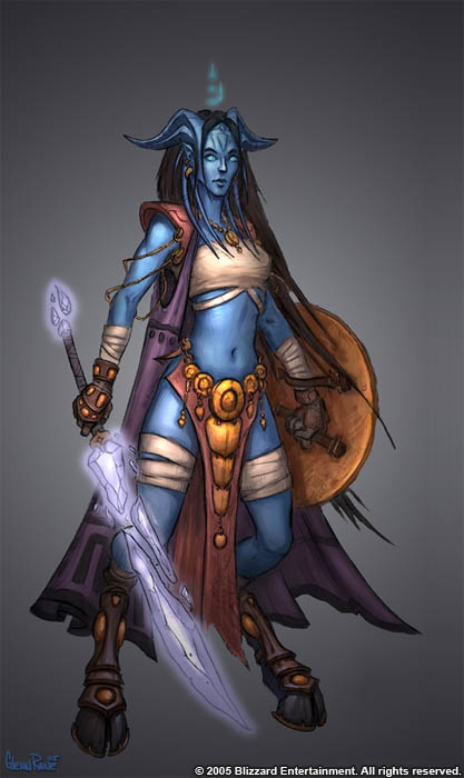 Draenei Female Concept by Arsenal21