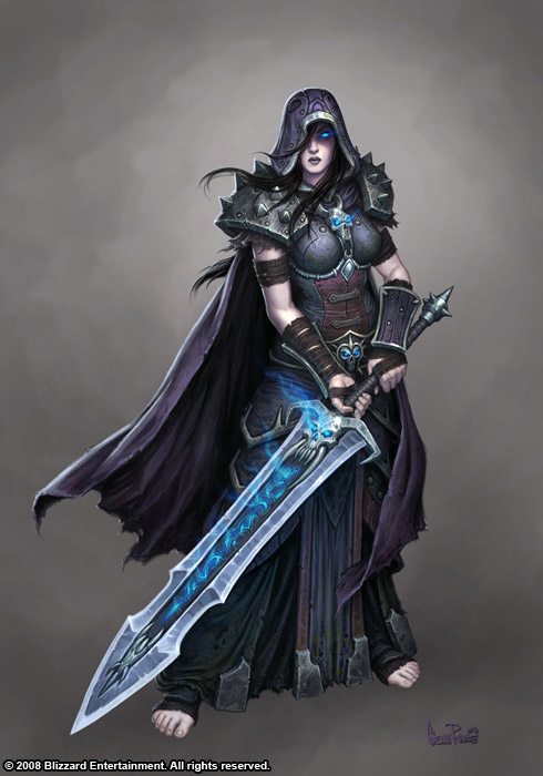 Female Death Knight by Arsenal21