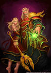 Blood Elf Couple