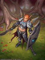 Blood Elf Paladin by GlennRaneArt