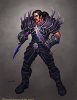 World of Warcraft: Human Rogue by GlennRaneArt