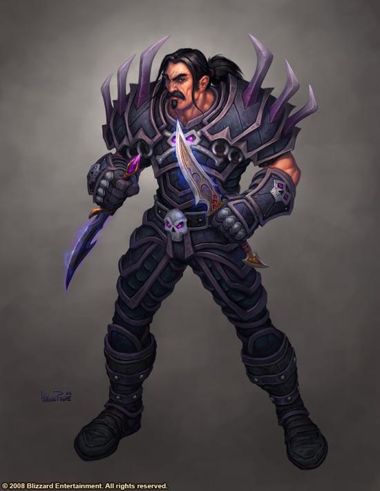 World of Warcraft: Human Rogue by Arsenal21