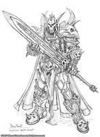 Night Elf Death Knight by GlennRaneArt