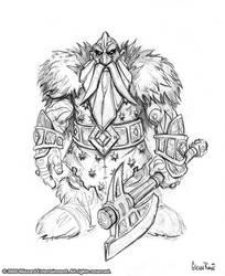 Iron Dwarf by GlennRaneArt