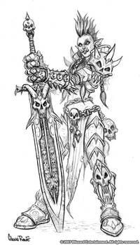 Female Troll Death Knight