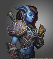 Draenei Female Paladin