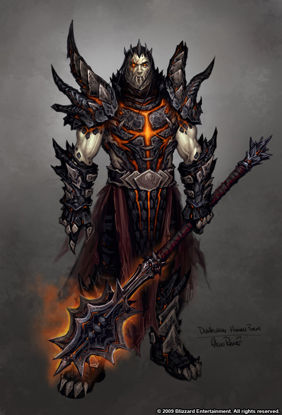 Deathwing in Human Form by the AWESOME Glenn RaneAlexstrasza Human Form