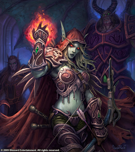 Sylvanas, Lady of Undercity. by Arsenal21