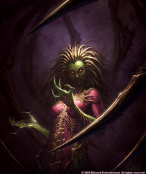 Kerrigan: Queen of Blades by GlennRaneArt