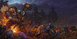 World of Warcraft Warlords of Draenor Box Art