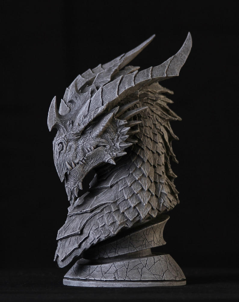 Dragon Sculpt by Arsenal21