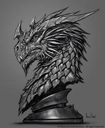Inkarnate Dragon Sculpt Design