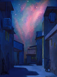 Alley 3 (Night Ver.)