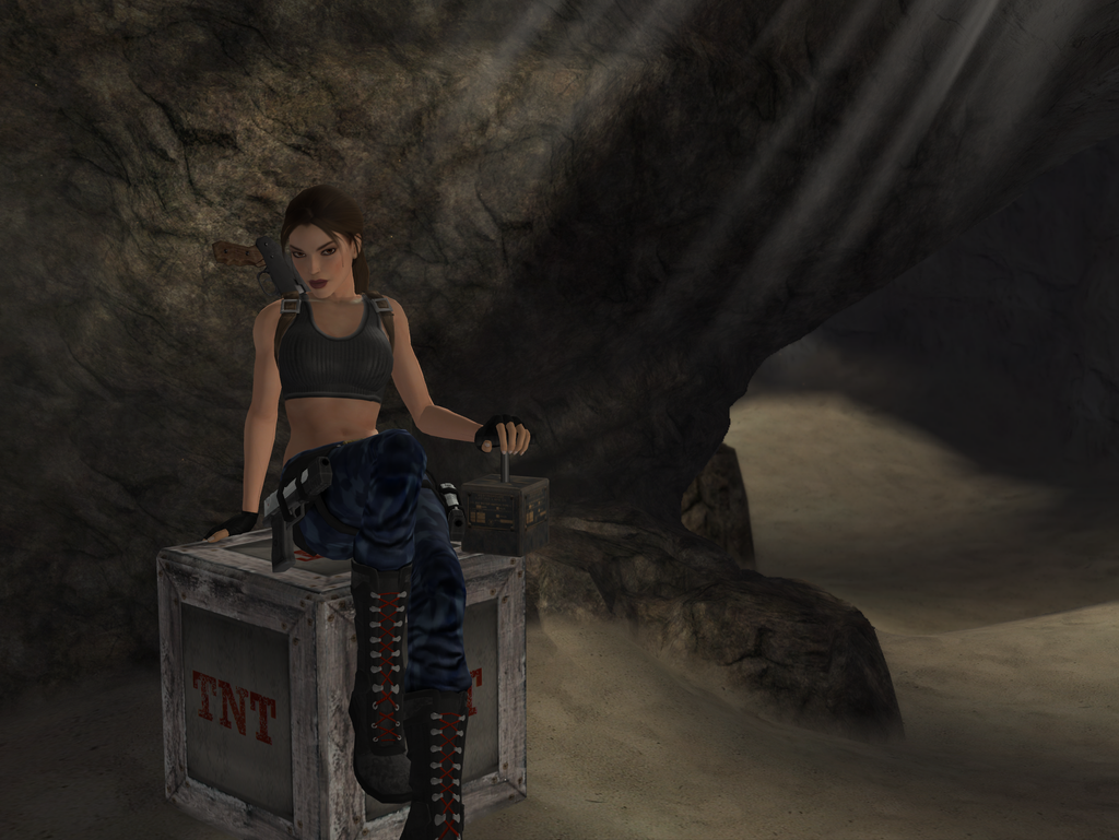 tomb raider iii nevada desert by sk8terwawa on deviantart. Black Bedroom Furniture Sets. Home Design Ideas
