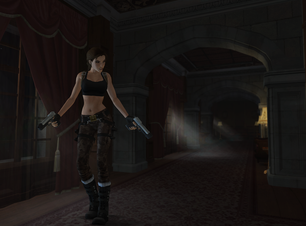 deviantART: More Like Lara croft by Mata13920