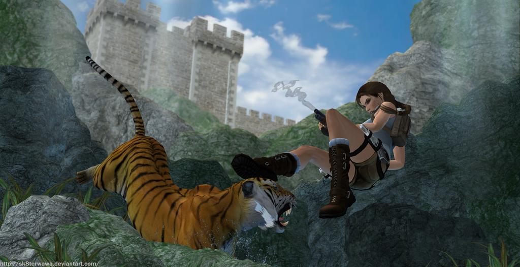 TRII - Great Wall by sk8terwawa