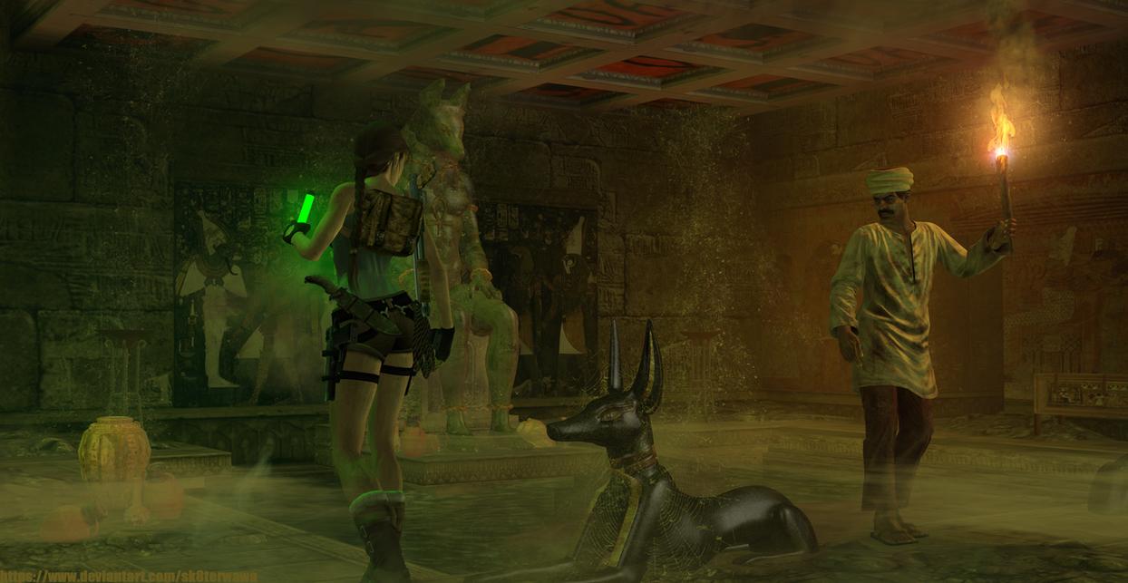 Tomb Raider 4 the Last Revelation - Tomb of Seth by sk8terwawa