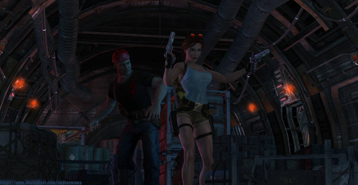 Tomb Raider II - Cinematic remake by sk8terwawa