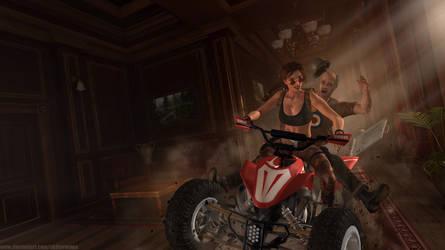 Tomb Raider III - Croft Manor Wallpaper