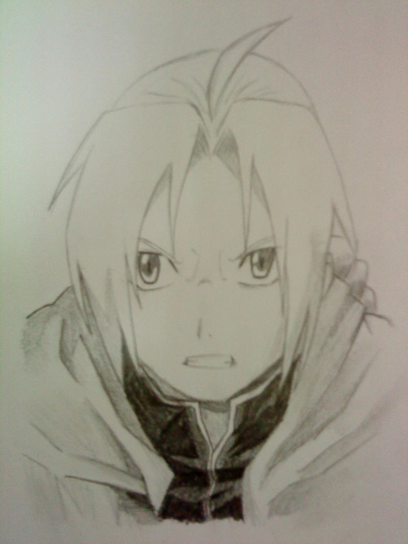 Edward Elric by nappyboy67