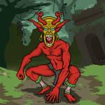 Supay, god of Uku Pacha
