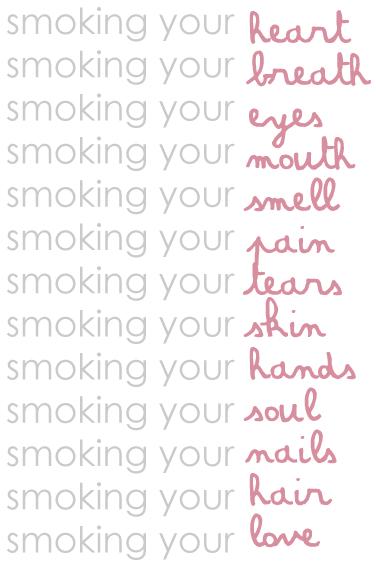 smoking... by tiredinlove