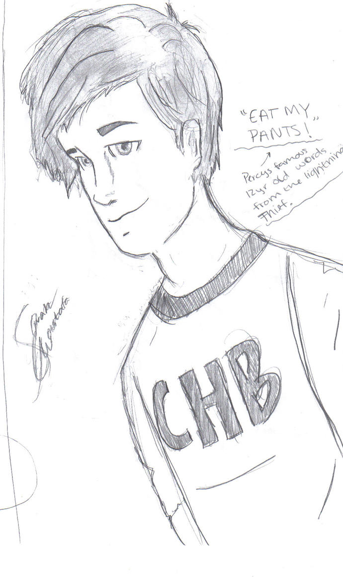 perseus jackson by campHB2010