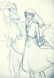 Zelda, skyward sword