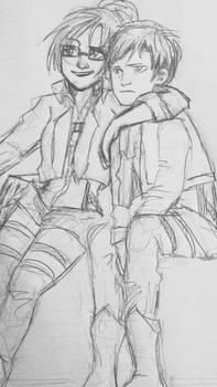 hanji and levi