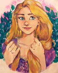 disney series: rapunzel
