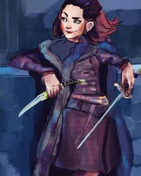 Arya Stark (and an update on my DA)