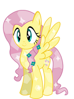 Crystal Fluttershy by Twitchy-Tremor