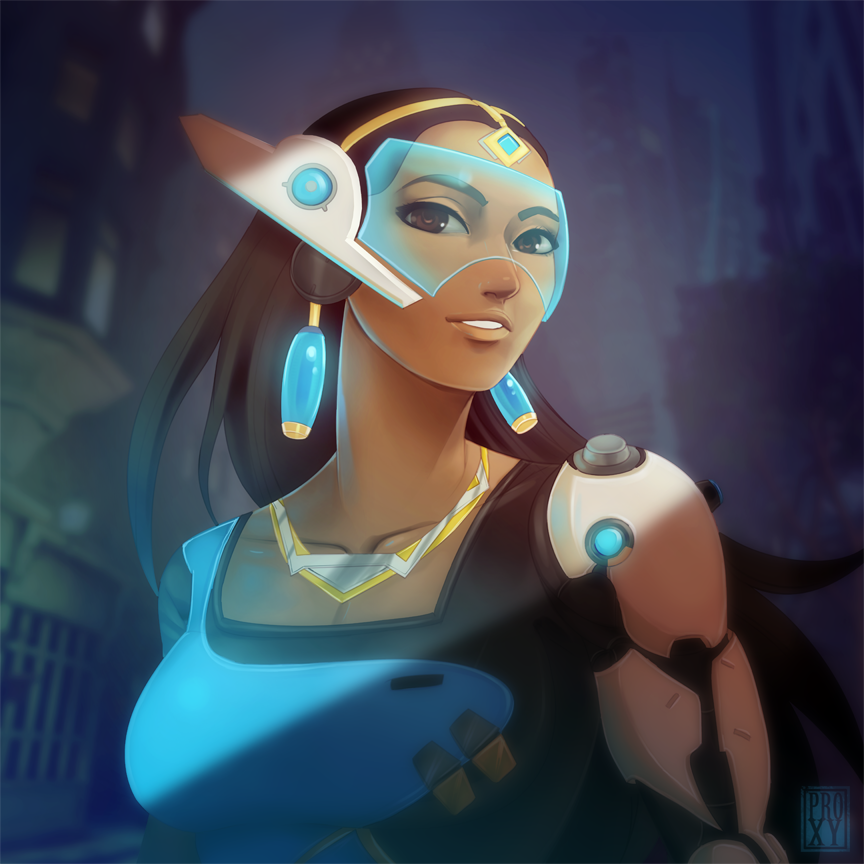 Symmetra is bae by ProxyIllustration