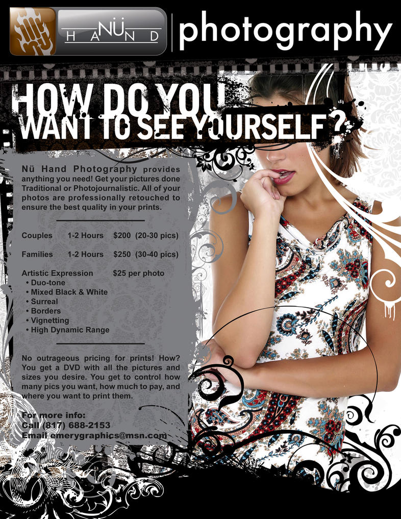 Nu Hand Flyer by emerygraphics