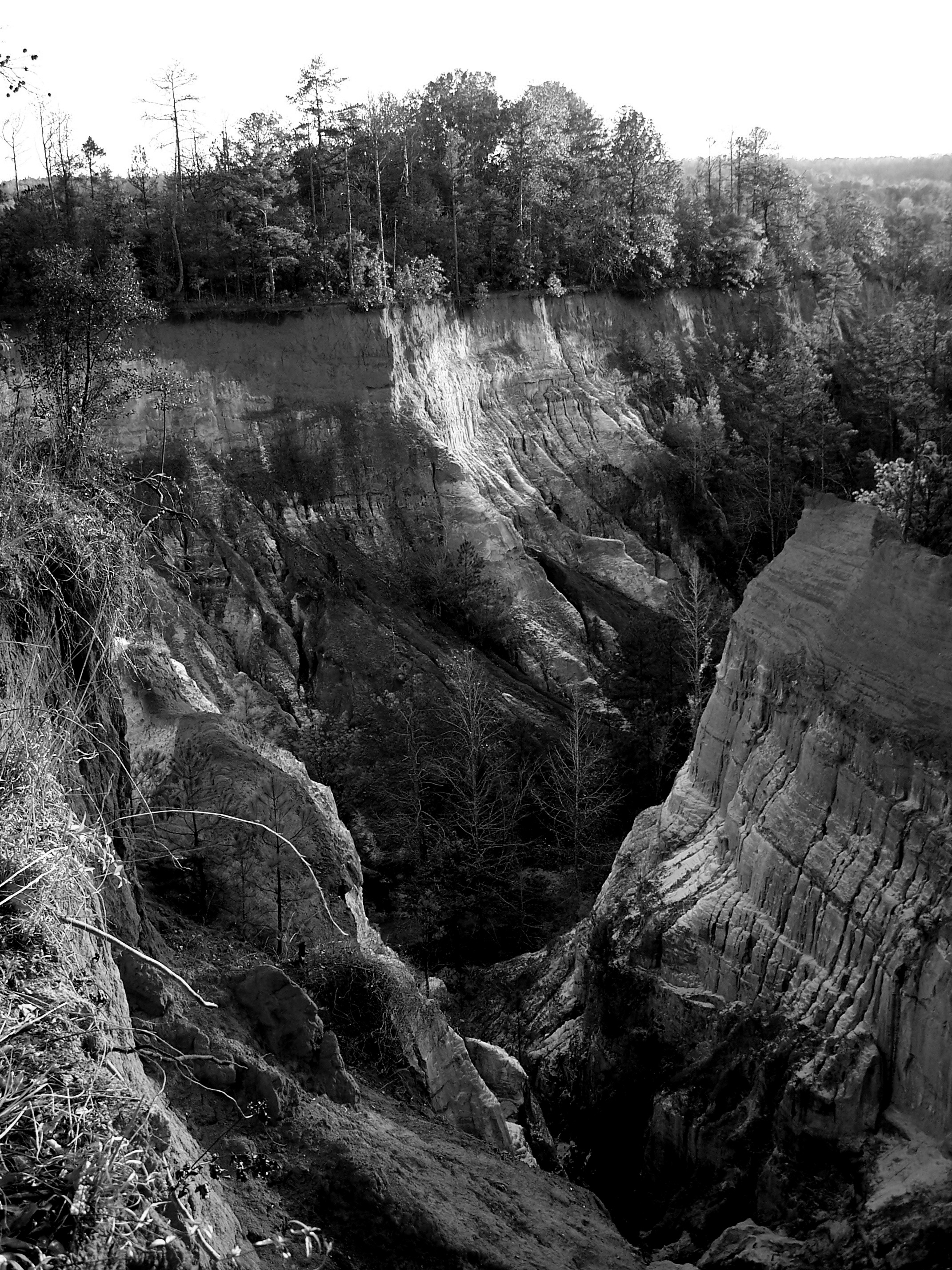 Providence Canyon BW2 by intouch