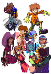 {DIGIMON} tkmsm by llllle