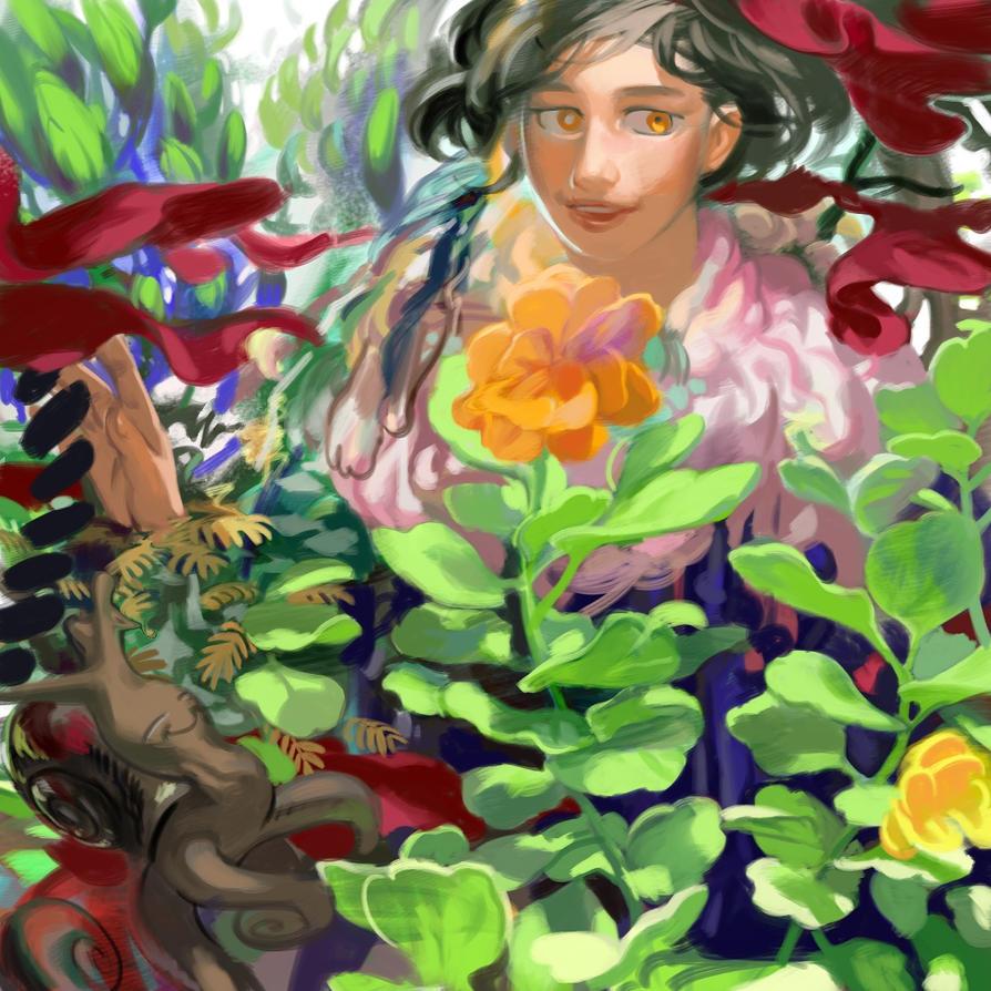garden by llllle