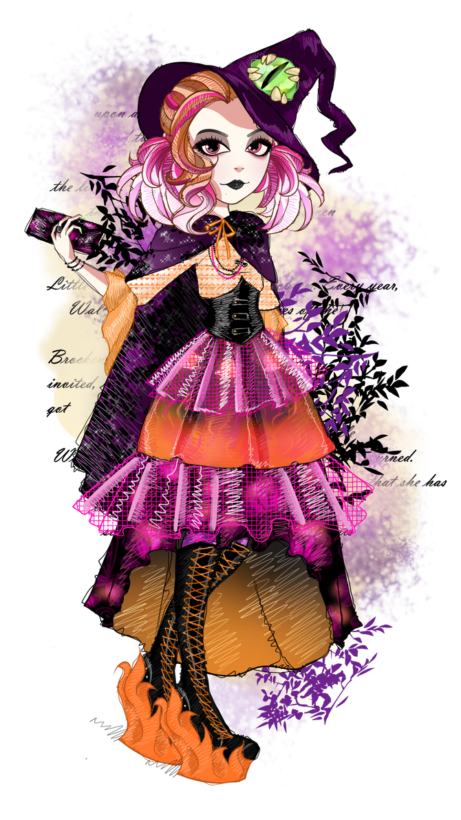 Liberty Witch EAH OC - Legacy Day by Fleurabelle