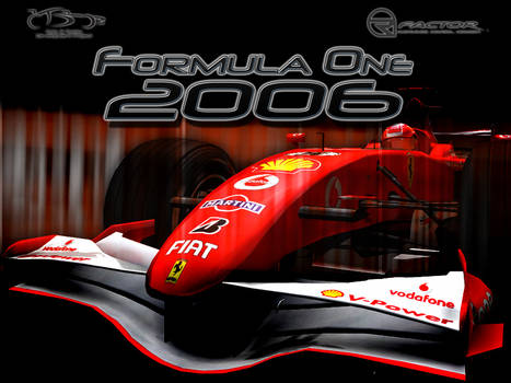 F1-2006 Splash screen