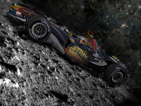 RedBull Racing on the Moon