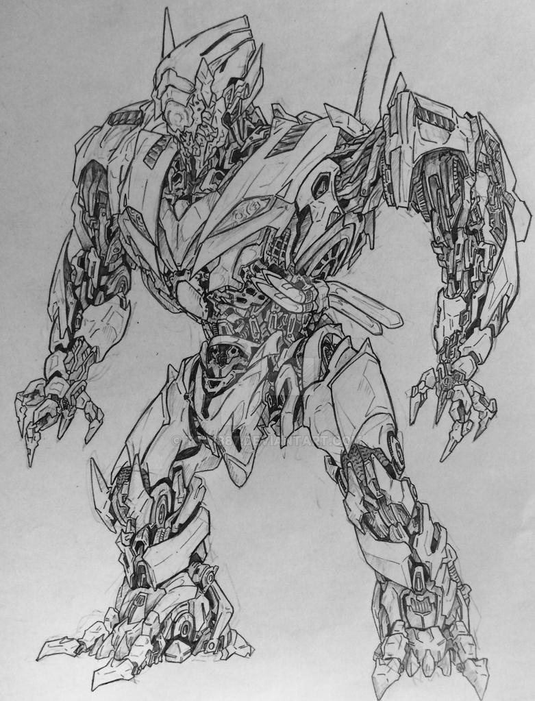 Decepticon Monodriver by TSK1887